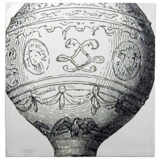 Luftschiff_Montgolfier Napkin
