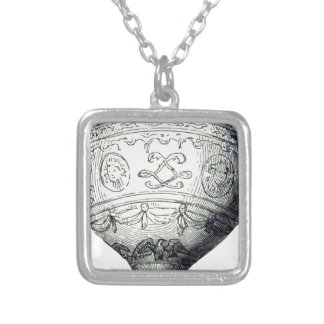 Luftschiff_Montgolfier Silver Plated Necklace