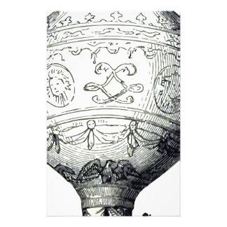 Luftschiff_Montgolfier Stationery