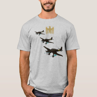 Luftwaffe insignia over Stuka T-Shirt
