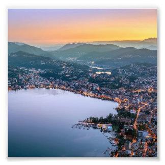 Lugano Switzerland Art Photo