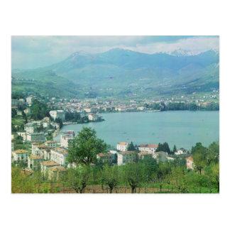Lugano Switzerland Postcard