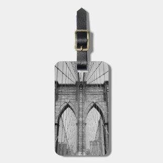 Luggage/Bag Tag - Brooklyn Bridge in New York City