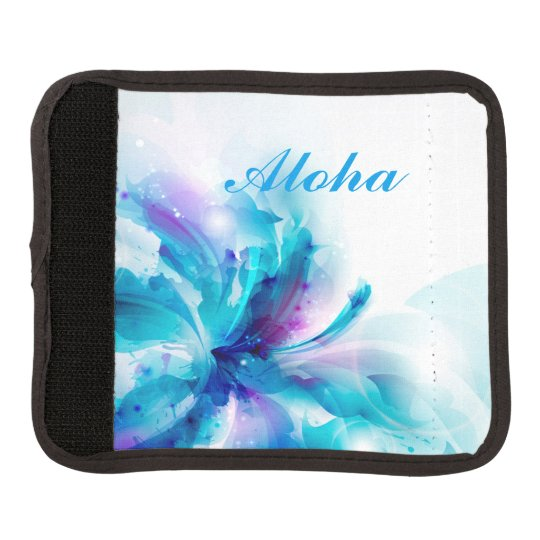 Luggage Handle Wrap-Aloha Floral Luggage Handle Wrap