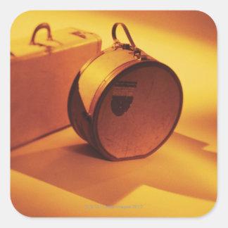Luggage Square Sticker
