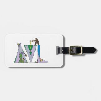 Luggage Tag | ASHEVILLE, NC (AVL)