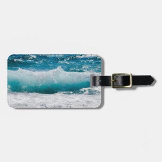 Luggage Tag--Cresting Wave 2 Luggage Tag