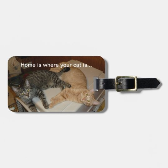 Luggage Tag - Custom Photo