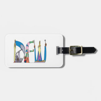 Luggage Tag | DALLAS/FORT WORTH, TX (DFW)