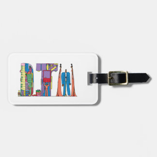 Luggage Tag | DETROIT, MI (DTW)