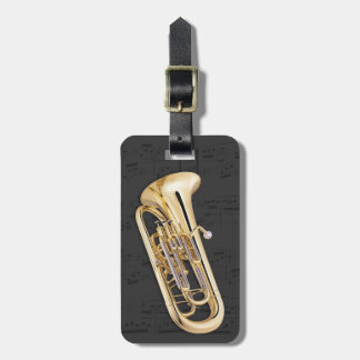 Luggage Tag - Euphonium - Choose color