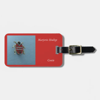 Luggage Tag for a cootie member