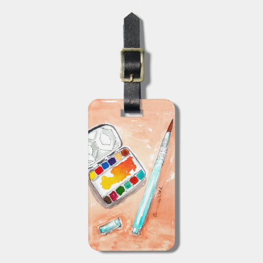 Luggage Tag for the Artist on the Go
