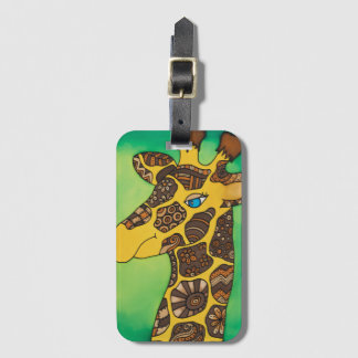Luggage Tag : Giraffe Series