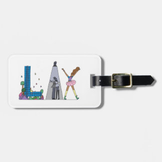 Luggage Tag | LOS ANGELES, CA (LAX)