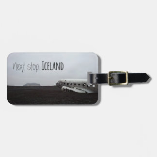 Luggage tag: Next stop Iceland Luggage Tag