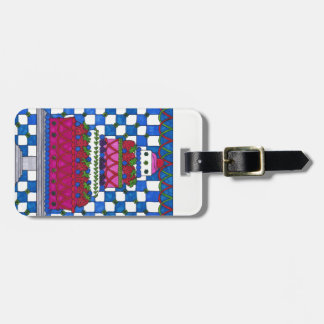 Luggage Tag - Personalize Strawberry Cake