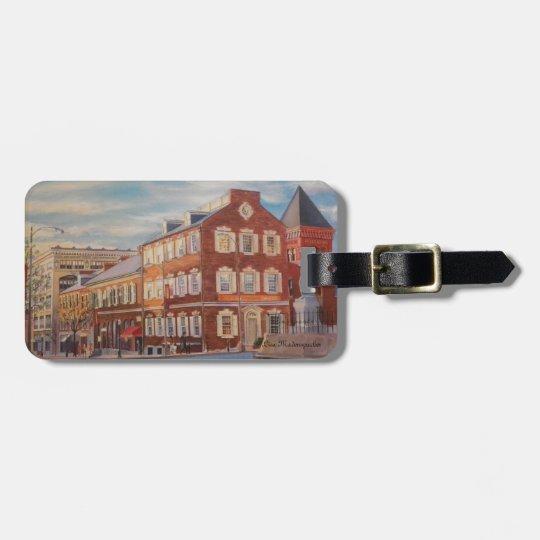 Luggage tag purse ornament key chain