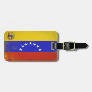 Luggage Tag with Cool Flag from Venezuela