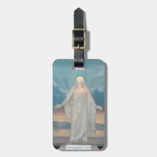 Luggage Tag with Jesus Christ