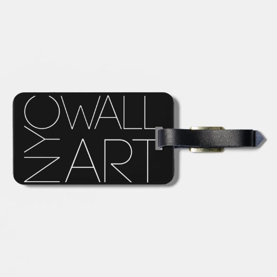 Luggage Tag with Photography by Omar Ortiz