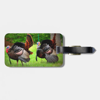 Luggage Tag with Strutting Tom