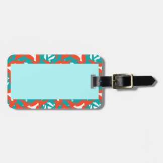 Luggage Tag with Tropical Surprise Design