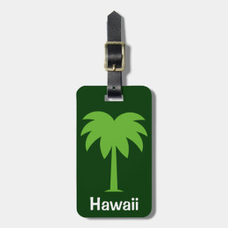 Luggage tag with your favorite travel destination