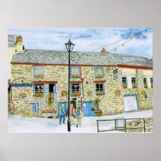 'Lugger Inn (Polruan)' Poster