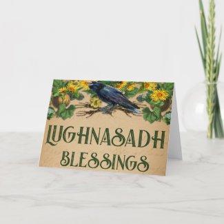 Lughnasadh Pagan Greeting Card