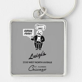 Luigi's Restaurant, Chicago, IL Keychain