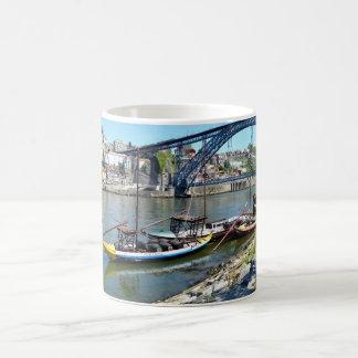 Luis 1 bridge over the river Douro Coffee Mug