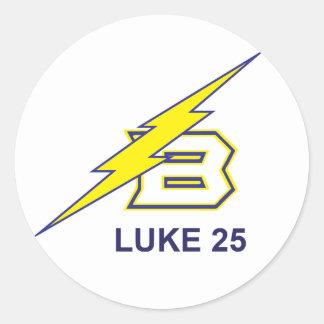 LUKE 25 ROUND STICKER