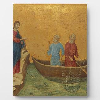 Luke 5:4 Shepherd Jesus Christ Blessing Faith Art Plaque