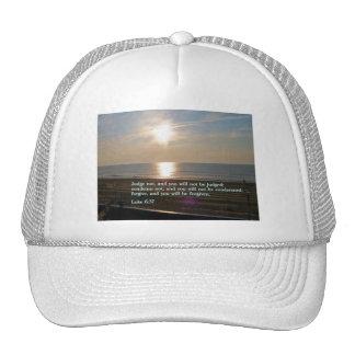 Luke 6:37  Sunrise Trucker Hat