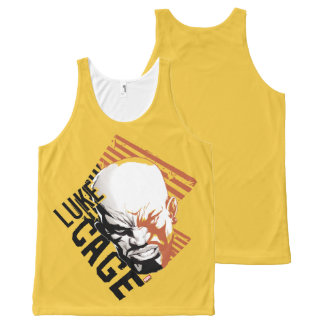 Luke Cage Badge All-Over-Print Tank Top