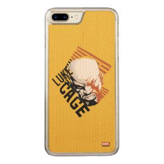 Luke Cage Badge Carved iPhone 8 Plus/7 Plus Case