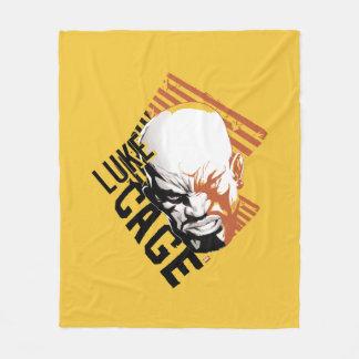 Luke Cage Badge Fleece Blanket