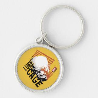 Luke Cage Badge Keychain
