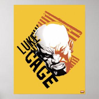 Luke Cage Badge Poster