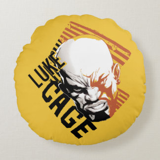 Luke Cage Badge Round Pillow