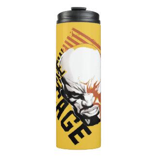 Luke Cage Badge Thermal Tumbler