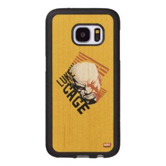 Luke Cage Badge Wood Samsung Galaxy S7 Case