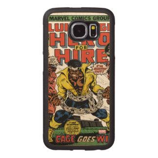 Luke Cage Comic #15 Wood Phone Case