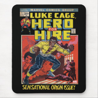 Luke Cage Comic #1 Mouse Pad