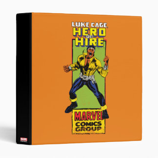 Luke Cage Comic Graphic 3 Ring Binder