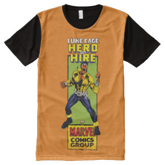 Luke Cage Comic Graphic All-Over-Print T-Shirt