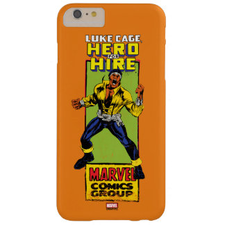 Luke Cage Comic Graphic Barely There iPhone 6 Plus Case