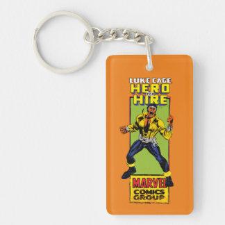 Luke Cage Comic Graphic Keychain