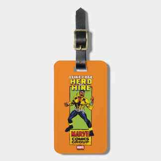 Luke Cage Comic Graphic Luggage Tag